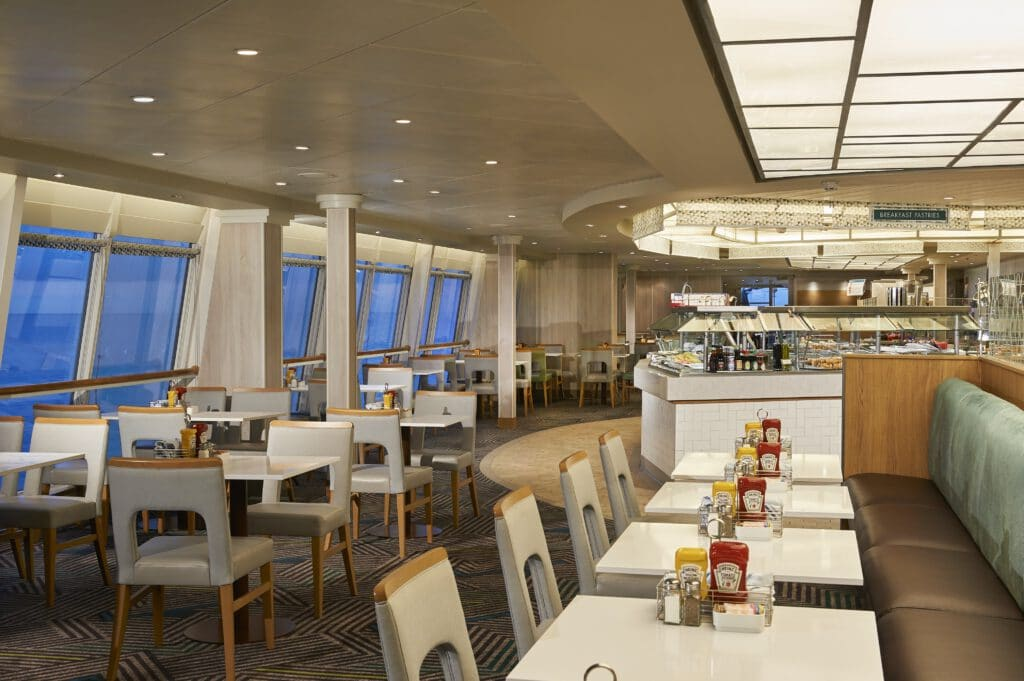 Cruiseschip-Norwegian Sun-Norwegian Cruise Line-Restaurant Garden Cafe