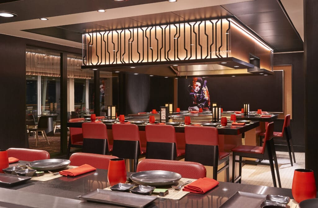 Cruiseschip-Norwegian Sun-Norwegian Cruise Line-Restaurant Teppanyaki