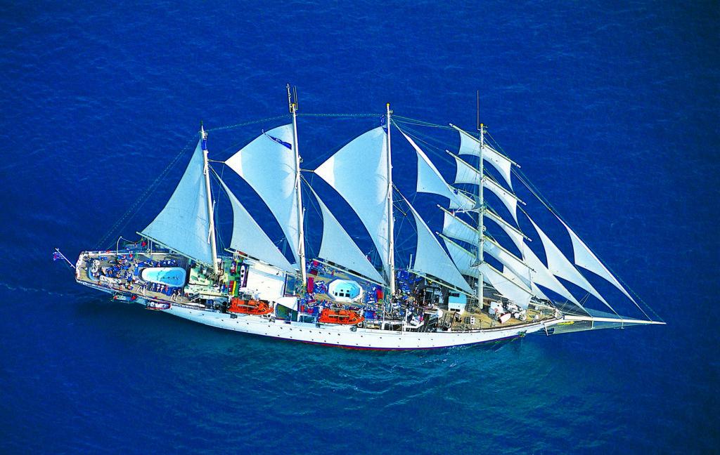 Cruiseschip-Star Flyer-Star Clippers-Schip