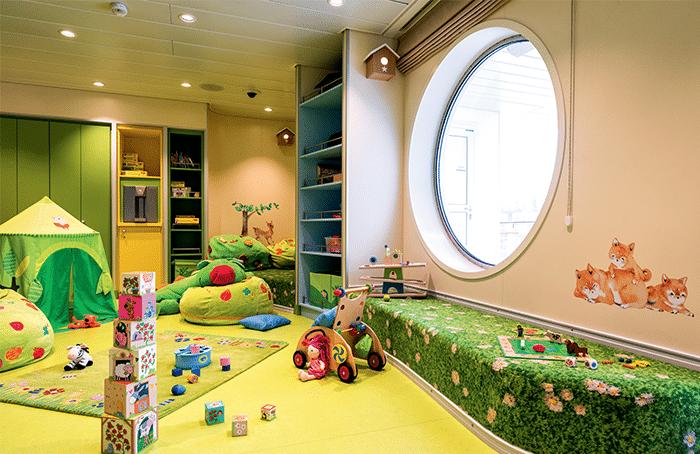 Cruiseschip-Mein Schiff 1-Mein Schiff2-TUI Cruises-Kinderopvang