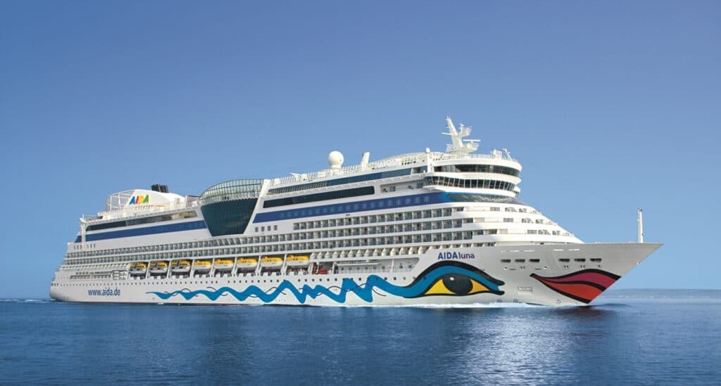 Cruiseschip-AIDAluna-AIDA Cruises-Schip