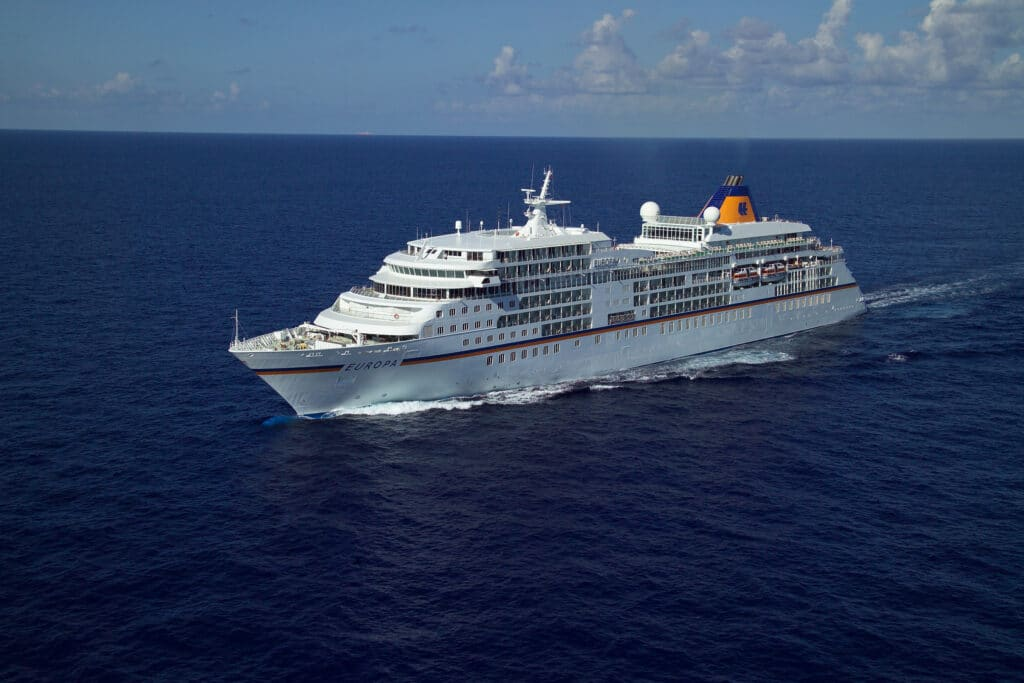 Cruiseschip-MS Europa-Hapag Lloyd-Schip