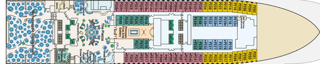 Princess-Cruises-Crown-Princess-Emerald-Princess-Ruby-Princess-dek-5-Plaza