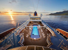 Cruiseschip-MS Europa-Hapag Lloyd-Zwembad
