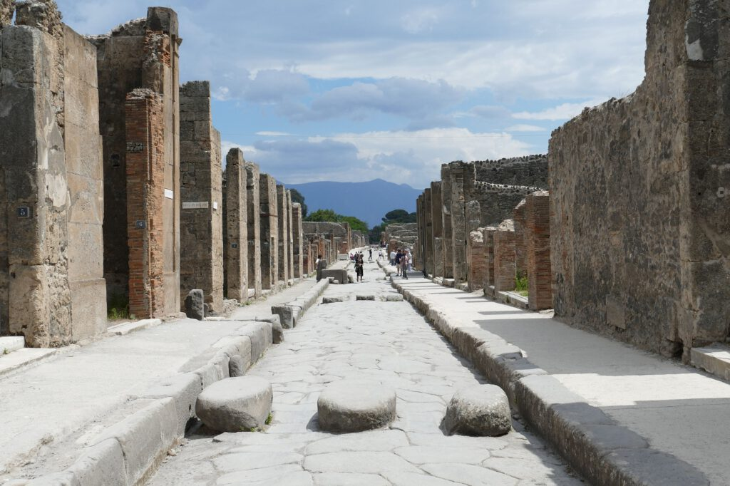 Middellandse-Zee-Pompeii-