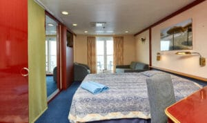 cruiseschip-Celestyal Cruises-Celestyal Crystal-Cat. SBJ-Junior Suite met balkon