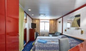 Cruiseschip-Celestyal Cruises-Celestyal Crystal-Cat. XD-Buitenhut