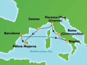Norwegian-Cruise-Line-Norwegian-Epic-route-zomer 2021