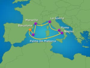 Royal Caribbean-Harmony-of-the-Seas-route-middellandse zee