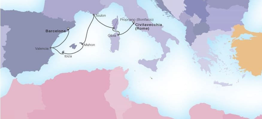 Seabourn-Seabourn-Sojourn-route-16 oktober 2021