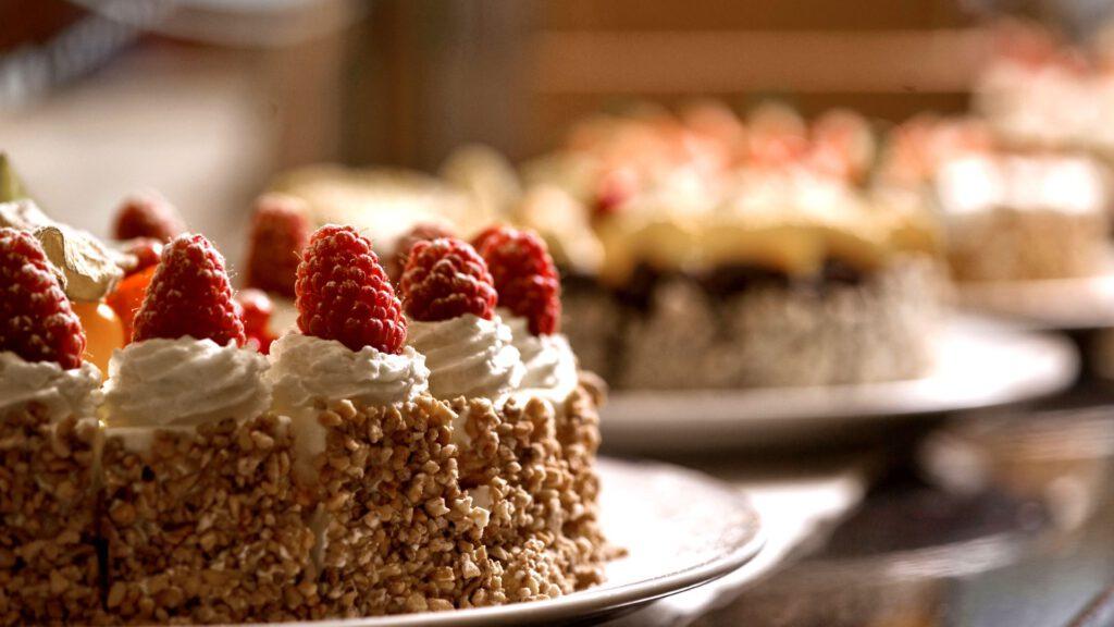 Cruiseschip-Hurtigruten-MS Fram-Schip-Dessert Buffet