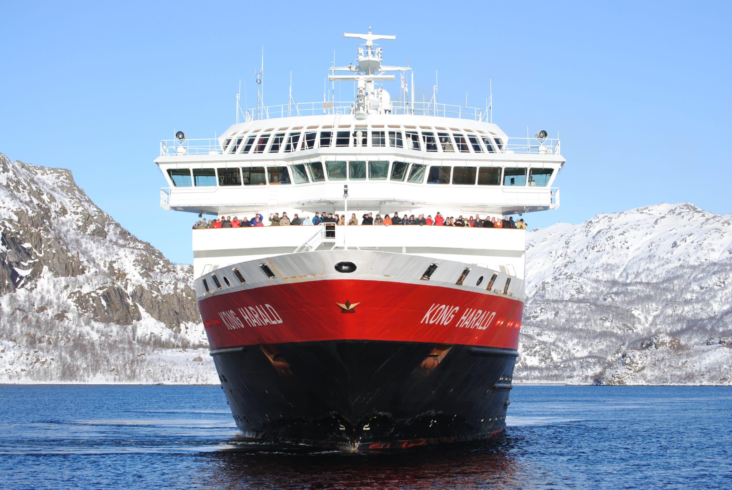Hurtigruten-MS Kong Harald-Schip-Cruiseschip-Schip