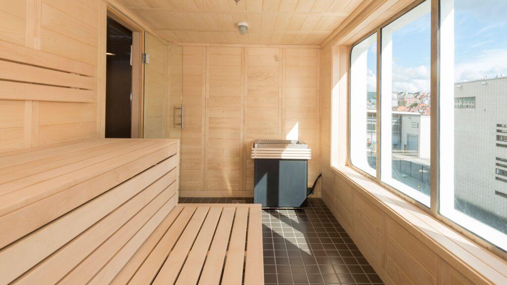 Cruiseschip-Hurtigruten-MS Spitsbergen-schip-Sauna