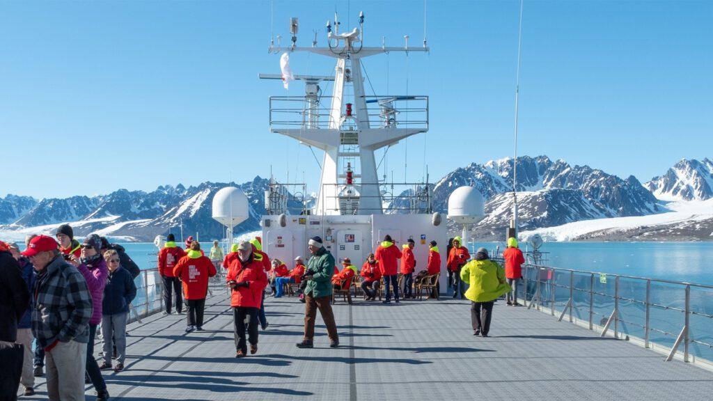Cruiseschip-Hurtigruten-MS Spitsbergen-schip-Schip Sfeer