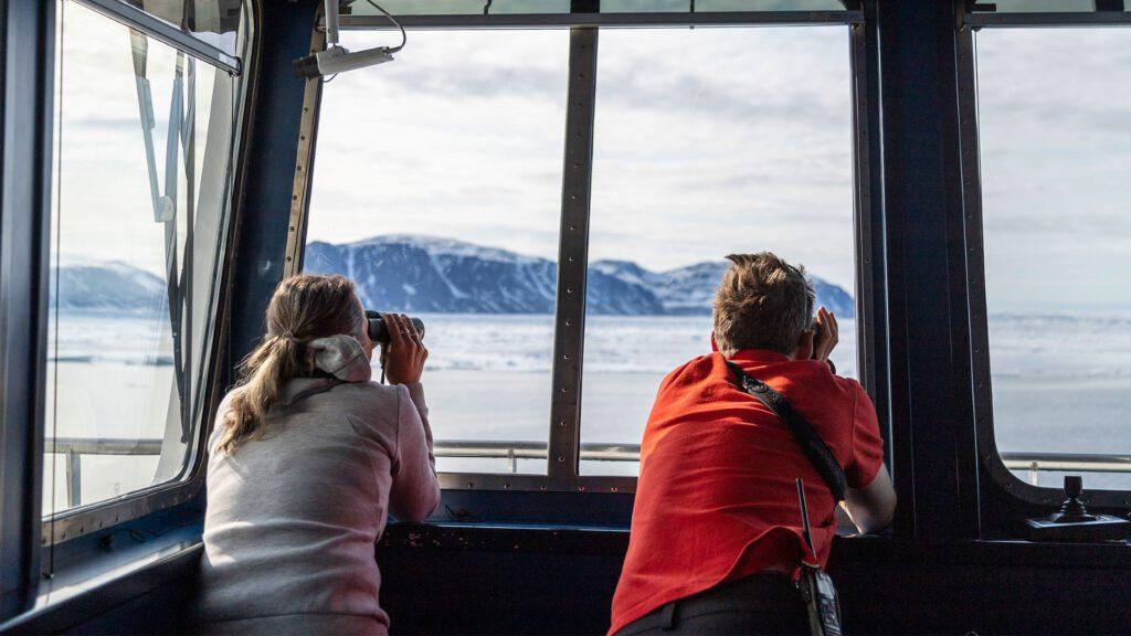 Cruiseschip-Hurtigruten-MS Spitsbergen-schip-Sfeer