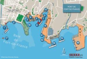 Martinique-Port-map