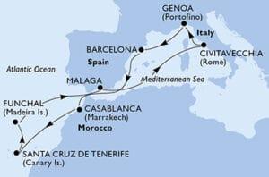 MSC-Cruises-MSC-Splendida-Genua