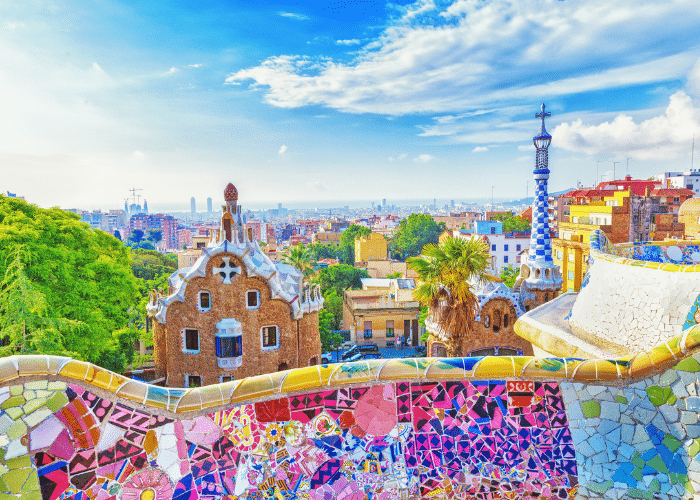 Spanje-Barcelona-cruise-haven-park-guell
