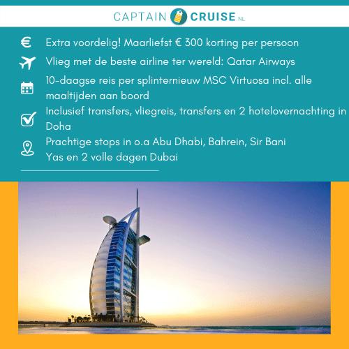 MSC-Cruises-MSC-Virtuosa-10-dagen-Qatar