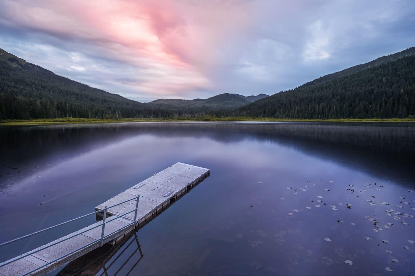 Verenigde-staten-alaska-juneau-meer