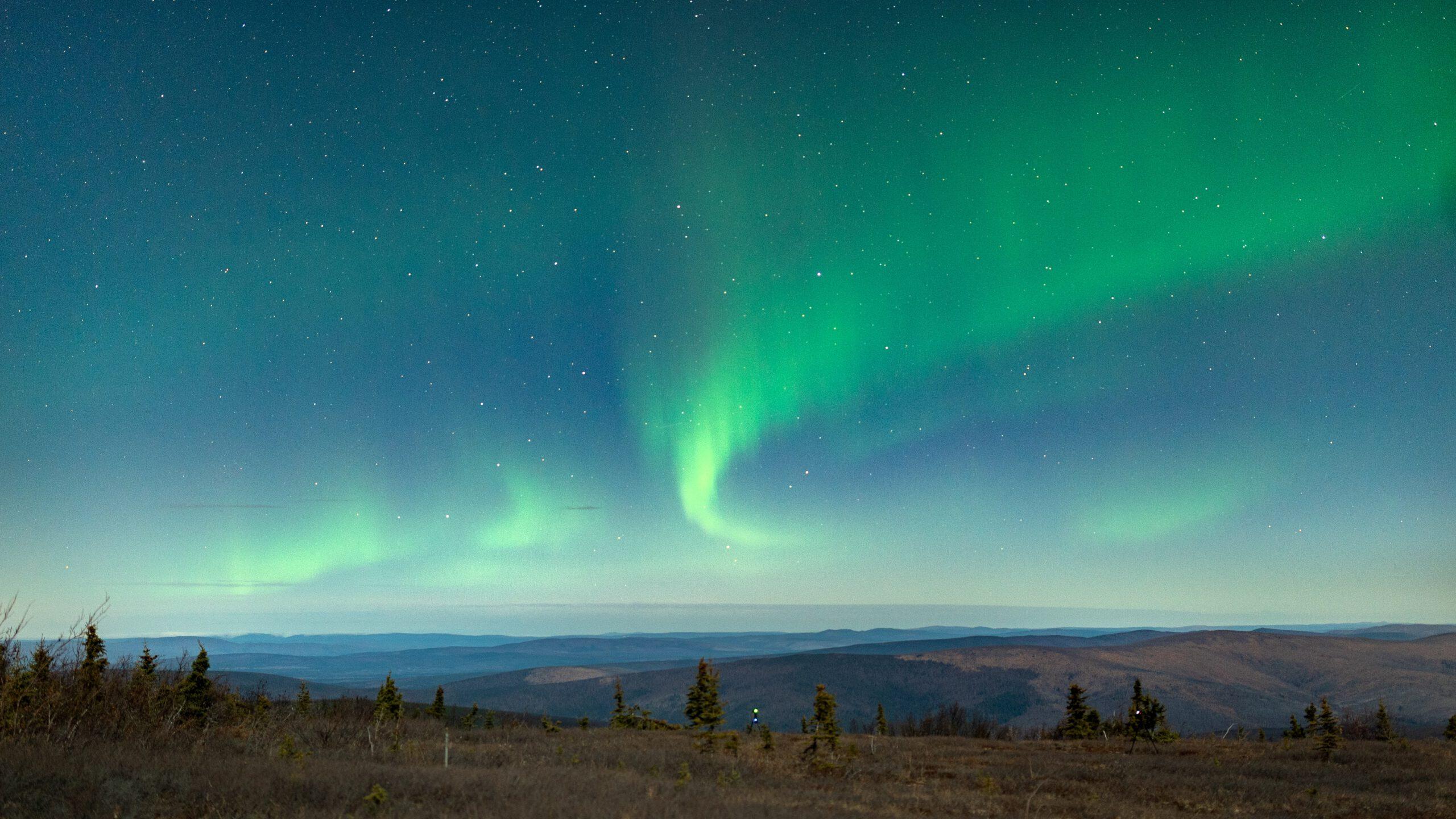alaska-Fairbanks-noorderlicht-landschap