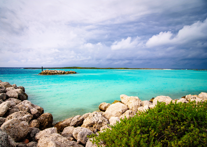 bahamas-castaway cay-landschap-natuur-rotsen