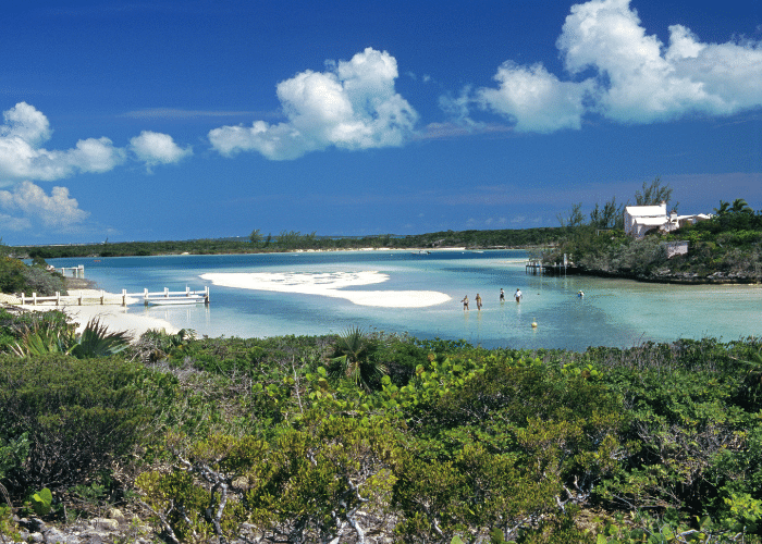 bahamas-castaway cay-landschap-natuur