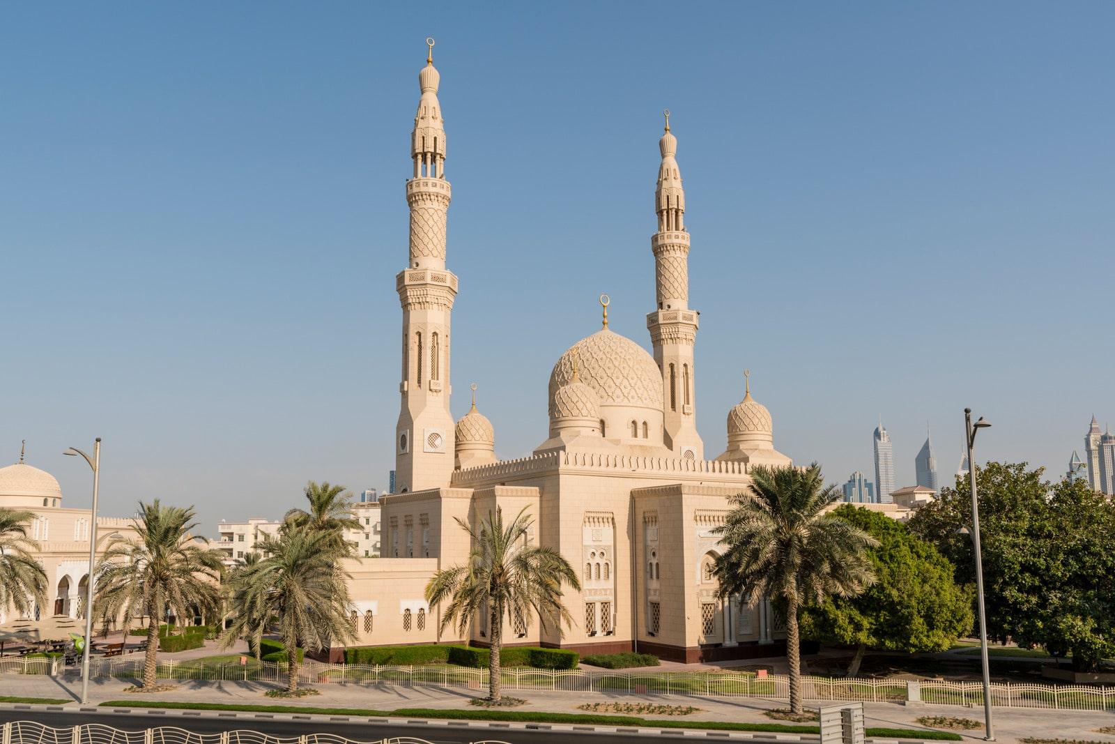 Dubai-Jumeirah Moskee
