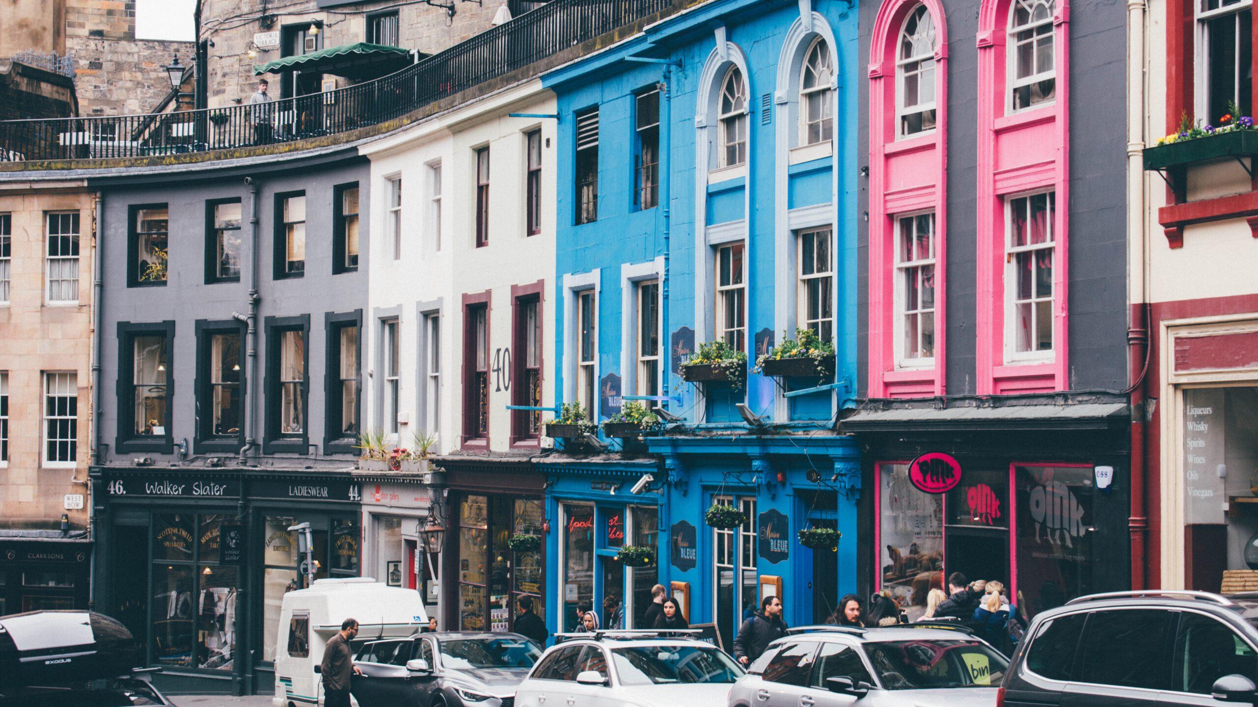 engeland-edinburgh-victoria street-winkelstraat