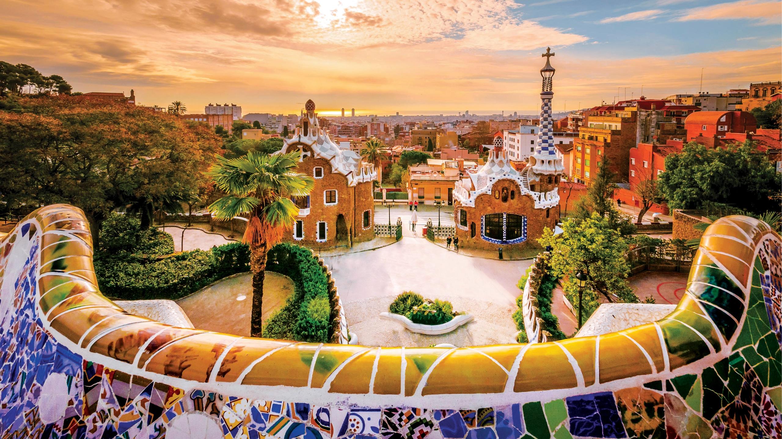 Spanje-Barcelona-Parc-Guell-Kunst-HAL